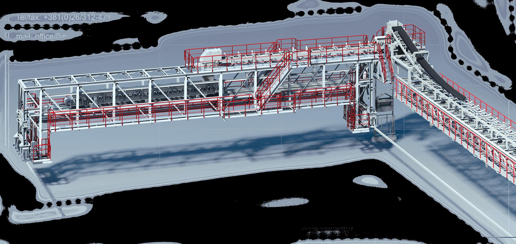 транспортеры мостовые